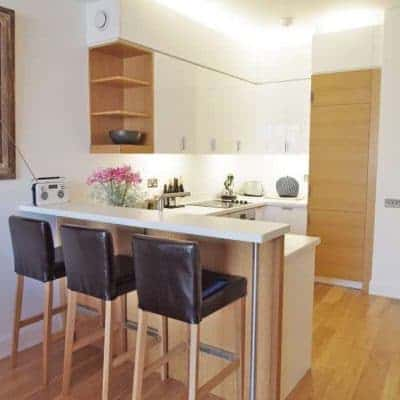 Short let London two bedroom home in Clerkenwell.