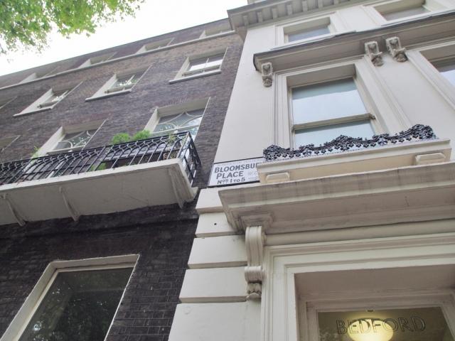 Bloomsbury street scene