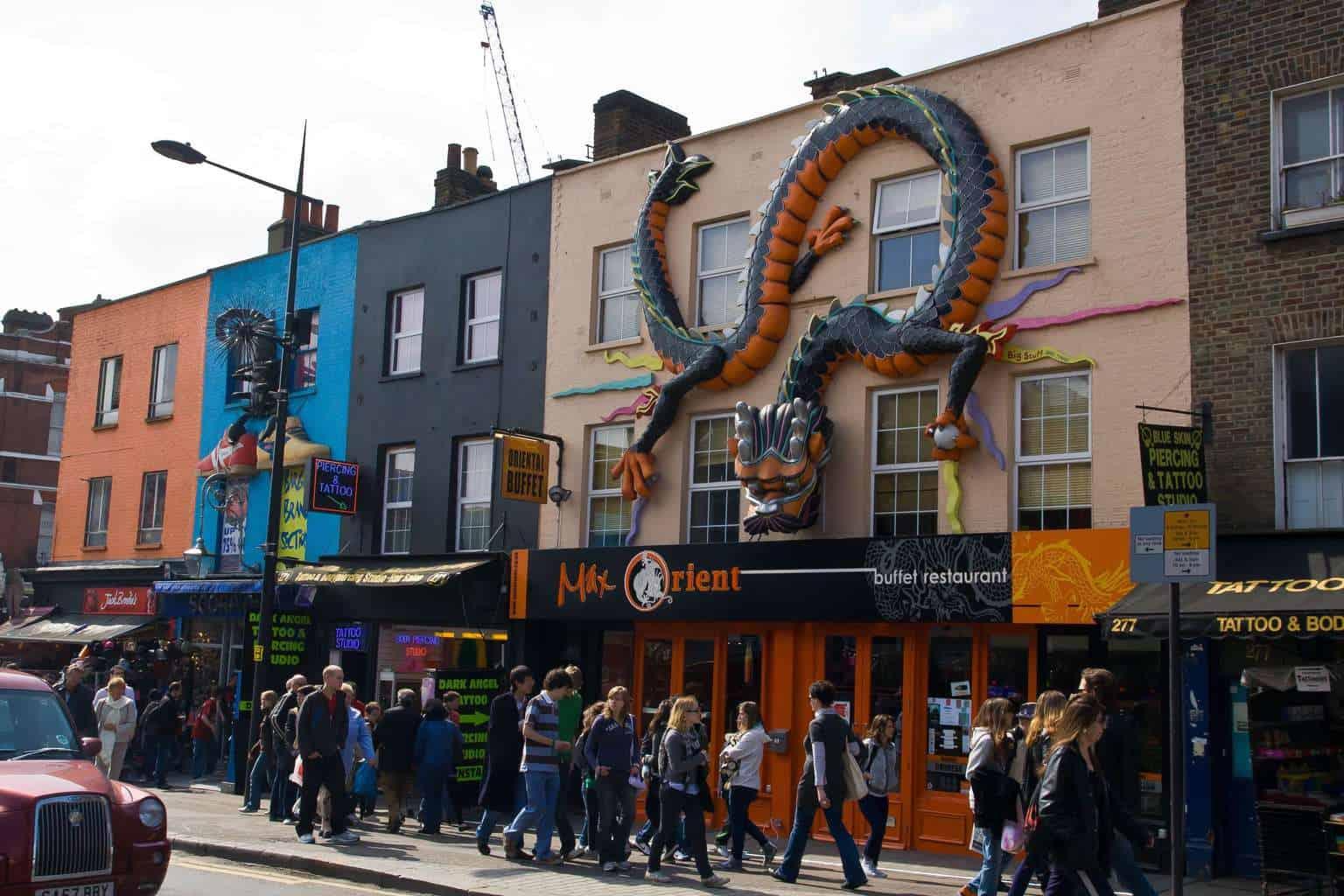 Camden street scene
