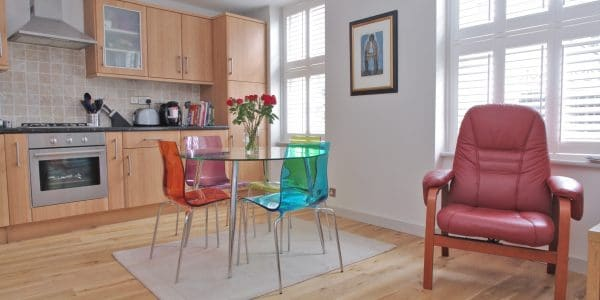 Short let London one bedroom flat in Covent Garden.