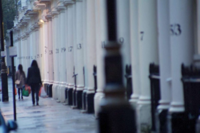 Londoners love the rain