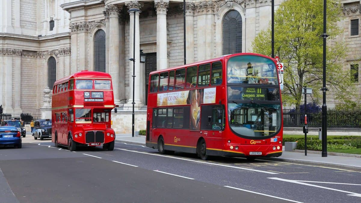 Visit London on London transport