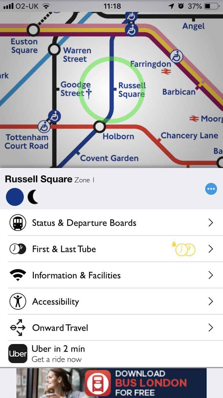 Useful apps for your London vacation